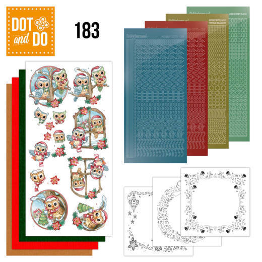 Dot and Do 183 Christmas Owls