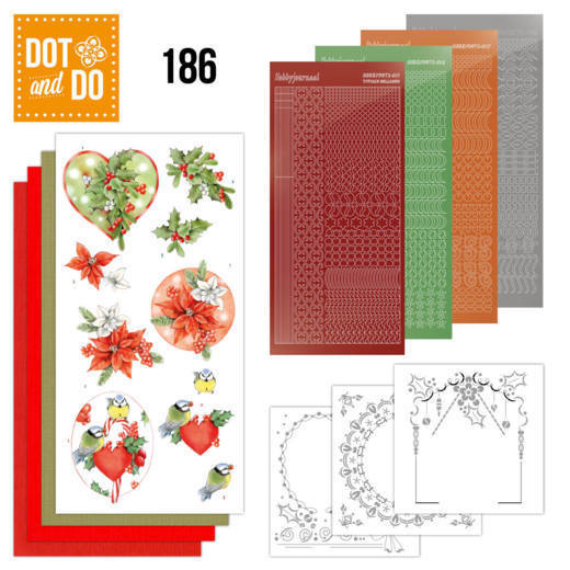 Dot and Do 186 - Red Holly Berries