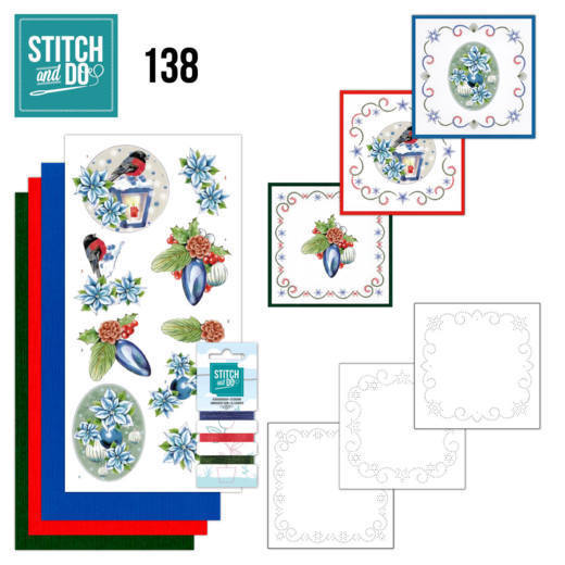 Stitch and Do 138 - Jeanine's Art - Christmas Lantern