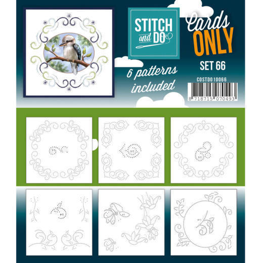 Stitch & Do - Cards only - set 66