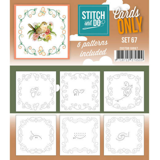 Stitch & Do - Cards only - set 67