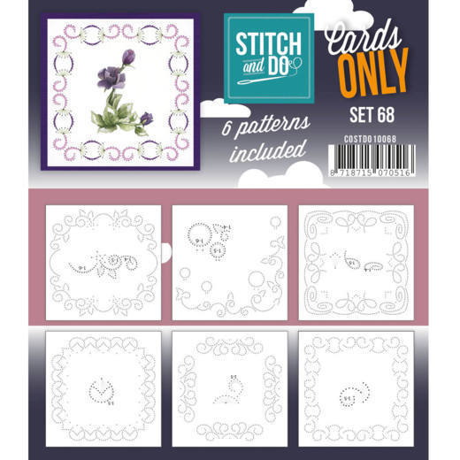 Stitch & Do - Cards only - set 68