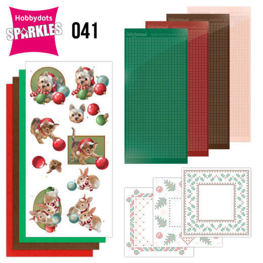Sparkles Set 41 - Amy Design - Christmas Pets