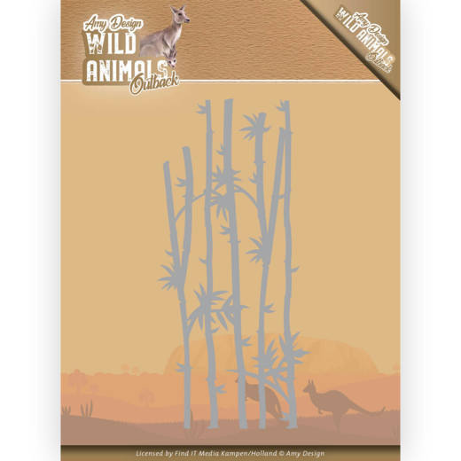Dies - Amy Design - Wild Animals - Bamboe Grass