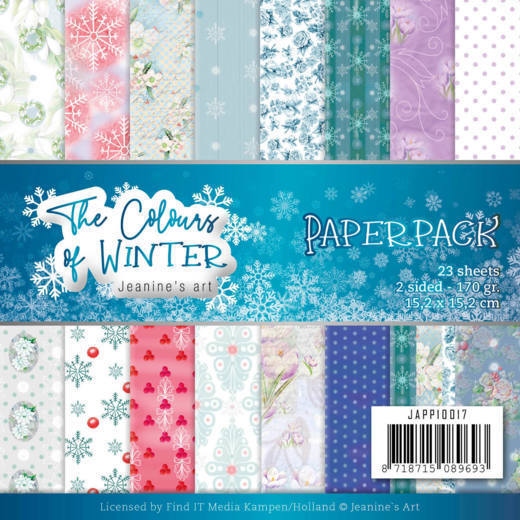 Paperpack - Jeanine's Art - The colours of winter