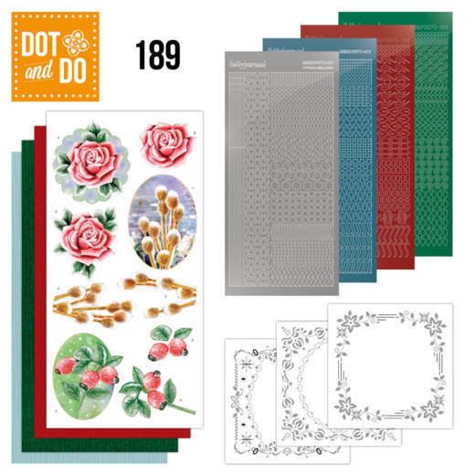 Dot and Do 189 - Jeanine's Art - Winter Flowers
