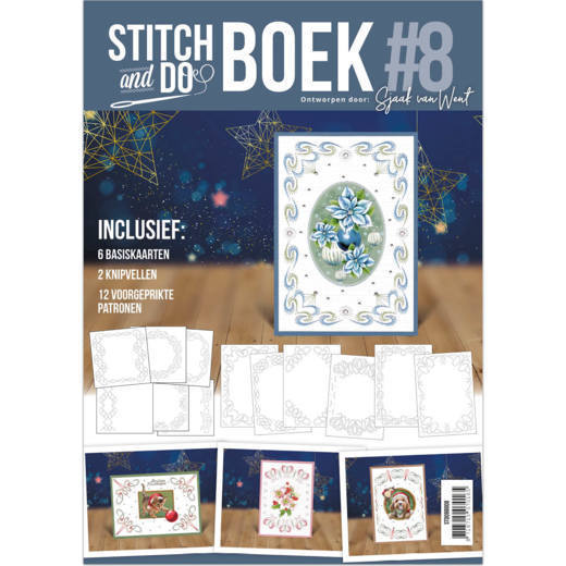 Stitch and Do A6 Boek 8 - Sjaak van Went - Christmas