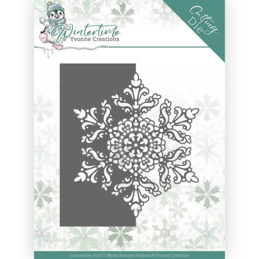 Dies - Yvonne Creations - Winter Time - Snowflake Border