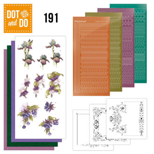 Dot and Do 191 - Precious Marieke - Pretty Flowers