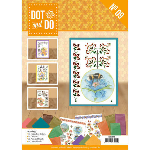Dot and Do A6 Boek 9 Jeanine's Art