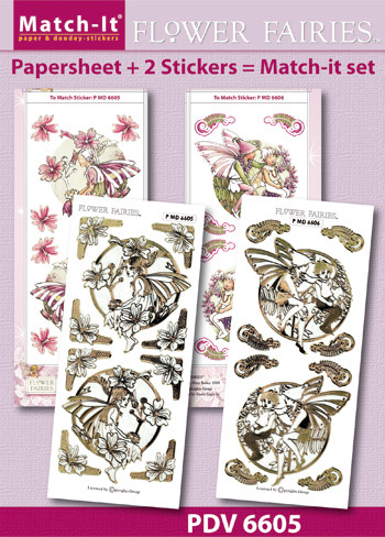 Match-It Set Flower Fairies mallow en vetch