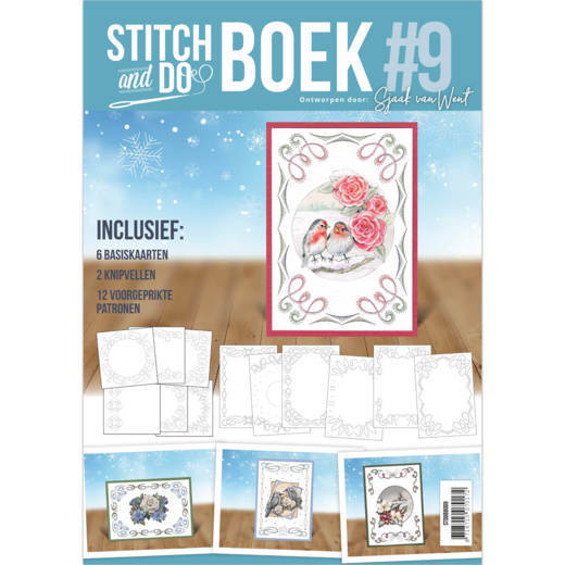 Stitch and Do A6 Boek 9 - Sjaak van Went - Winter