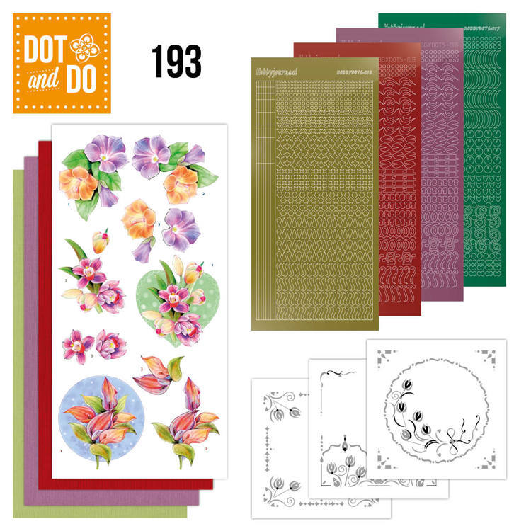 Dot and Do 193 - Jeanine's Art - Orchid