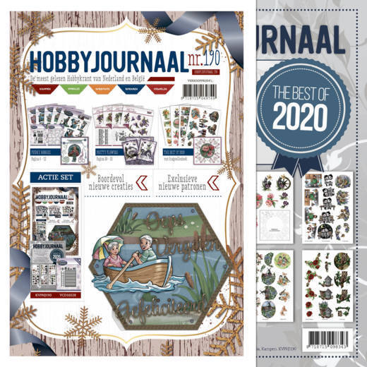 Hobbyjournaal 190 - met knipvellenboek The Best of 2020
