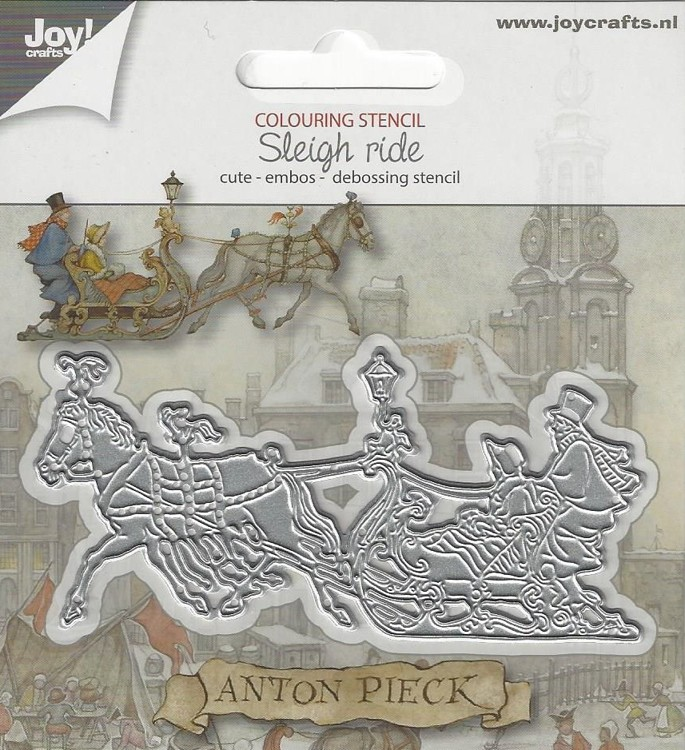 Joy! Snijmal Anton Pieck Sleigh Ride