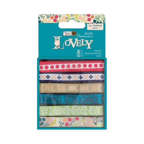 Docrafts 6x 1mtr Lint - Sew Lovely
