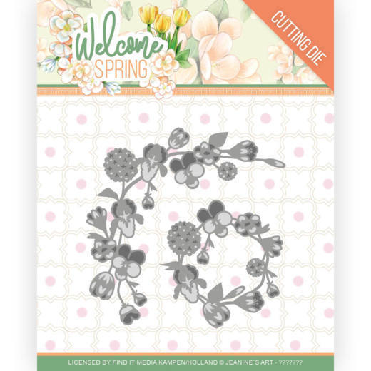 Dies - Jeanine's Art - Welcome Spring - Spring Garland