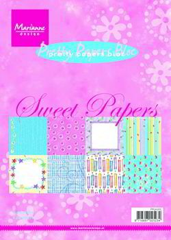 MD Pretty Papers bloc A5 Sweet Papers