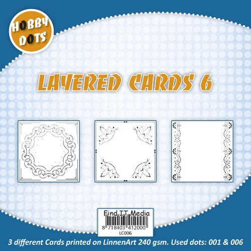 Hobbydots Layered Cards nr.6