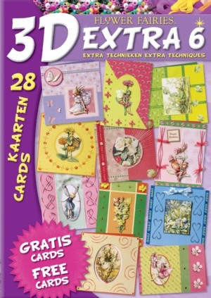 Boek 3D Extra 6 Flower Fairies