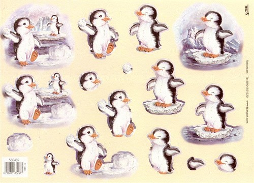 TBZ Stansvel A4 Pinguin/winter