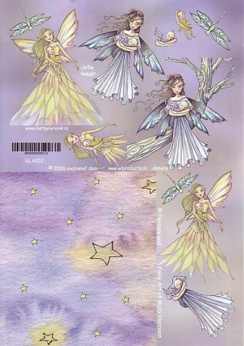 Molly Harrison knipvel A4 Fairy