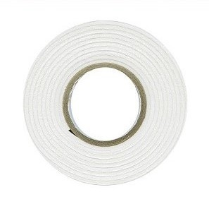 Dubbelzijdig Foam tape 2mm dik, 12mm breed, 2mtr lang