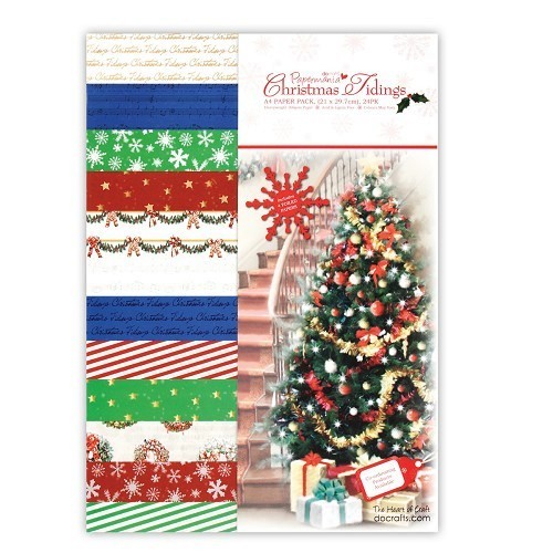 Paper Pack A5- Christmas Tidings (24pk)