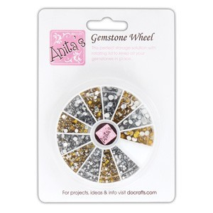 Anita's Gold & Silver Gemstone Wheel