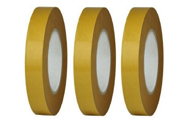 Dubbelzijdig tape 9 mm breed 13 mtr