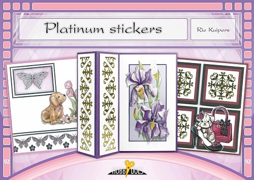 Hobbydols 92 - Platinum stickers