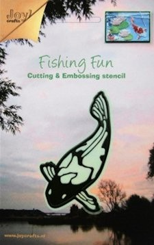 Joy Cutting & Embossing stencil koi-karper