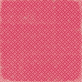 K&Company Scrapbook Paper Peppermint Red Ornaments 30,5x30,5cm 12 vellen