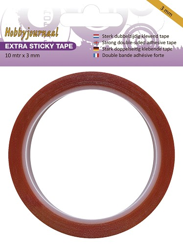 Hobbyjournaal/JEJE Extra Sticky Tape 3 mm