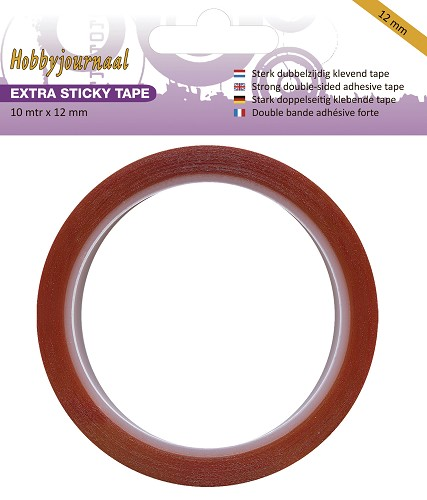 Hobbyjournaal/JEJE Extra Sticky Tape 12 mm