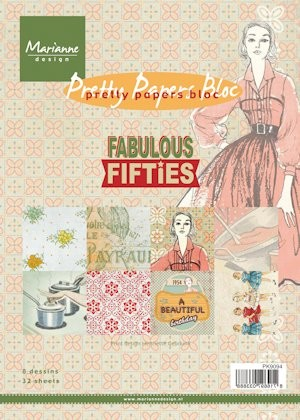 MD Pretty Papers bloc A5 Fabulous Fifties