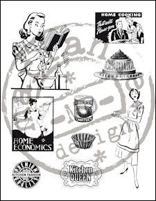MD Clear stamp kitchen