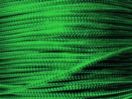 Metallic koord 1mm 25 meter Groen