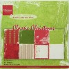 MD Pretty Papers bloc Classic Christmas 15x15cm - papier/PK9113