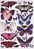 Anita's stansvel A4 Flutterdies Toppers - Metallic Exotic