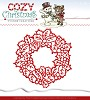 Die - Yvonne Creations Cozy Christmas - Wreath