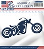Amy Design die - America Collection - Bike - mal/USAD10004