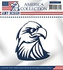 Amy Design die - America Collection - Eagle - mal/USAD10003