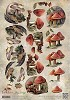 Amy Design knipvel A4 Autumn - Paddenstoelen
