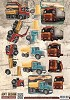 Amy Design knipvel A4 Vintage Vehicles - Trucks