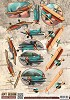 Amy Design knipvel A4 Vintage Vehicles - Planes