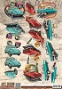 Amy Design knipvel A4 Vintage Vehicles - Cars