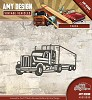 Amy Design die- Vintage Vehicles - Truck