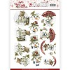 Marieke Design stansvel A4 - Joyful Christmas