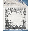 Amy Design die - Vintage Winter - Village Frame Square